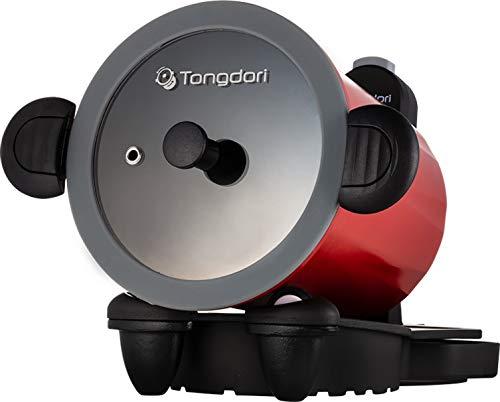 回る鍋 トンドリ オーブン アウトドア 自動調理 加熱調理 ロボットシェフ