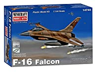 ミニクラフト 1/144 アメリカ空軍 F-16A ファイティングファルコン (フレーム塗装済キャノピー付属) プラモデル MC14744