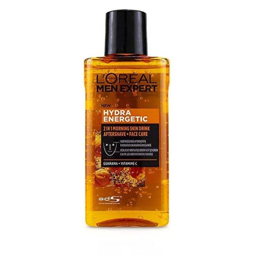 予見する有害ディベートロレアル Men Expert Hydra Energetic 2-In-1 Aftershave + Facecare 125ml/4.2oz並行輸入品