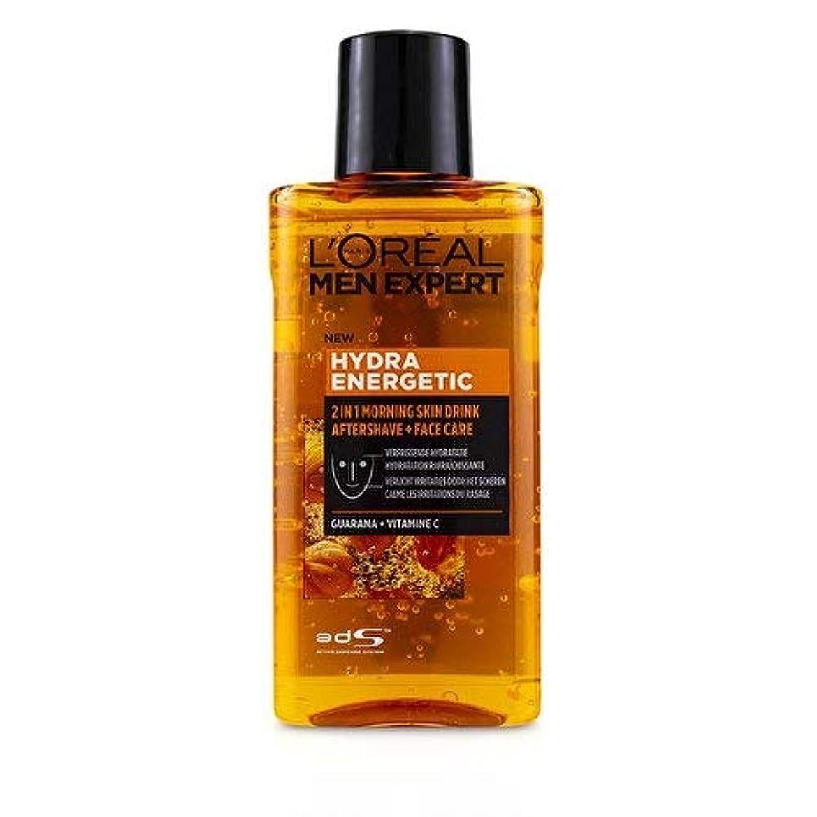 クリップ良い女王ロレアル Men Expert Hydra Energetic 2-In-1 Aftershave + Facecare 125ml/4.2oz並行輸入品