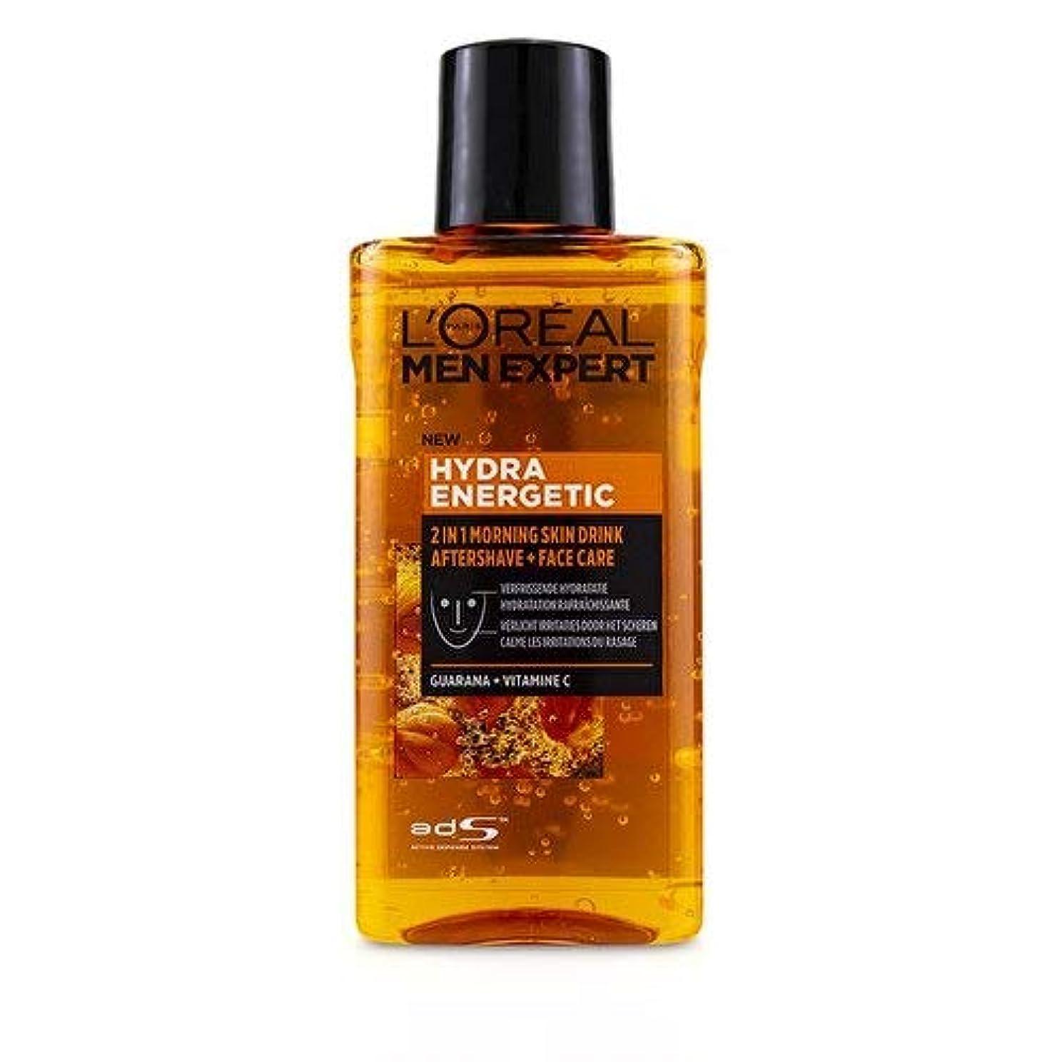 クリップ蝶ベリービールロレアル Men Expert Hydra Energetic 2-In-1 Aftershave + Facecare 125ml/4.2oz並行輸入品