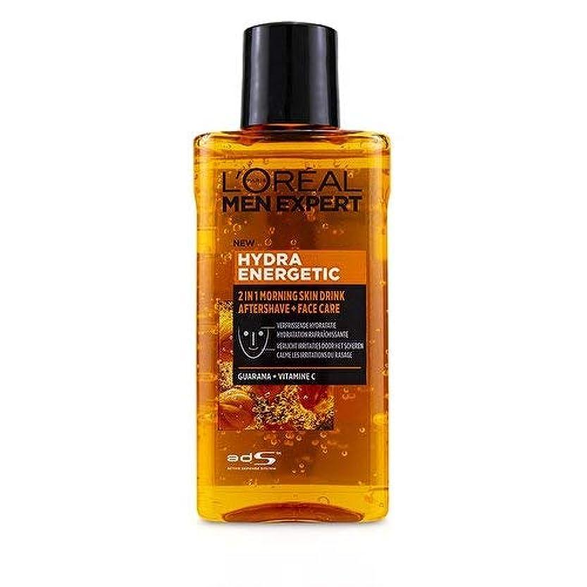 フライカイトクロニクルアナロジーロレアル Men Expert Hydra Energetic 2-In-1 Aftershave + Facecare 125ml/4.2oz並行輸入品