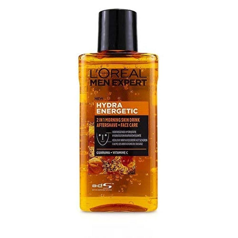 愛情深い陰気スケッチロレアル Men Expert Hydra Energetic 2-In-1 Aftershave + Facecare 125ml/4.2oz並行輸入品