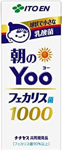 伊藤園 朝のYoo フェカリス菌1000 (紙パック) 200ml×24本