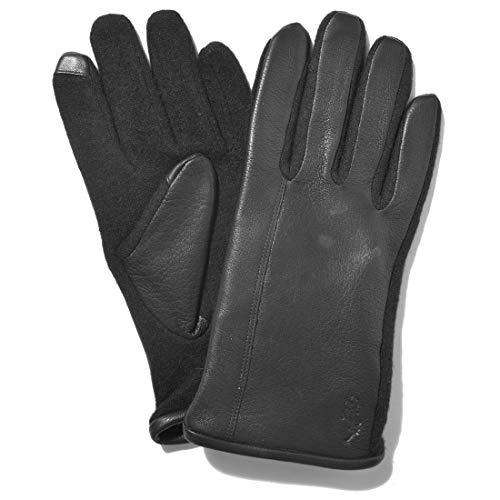 [ポロ ラルフローレン] 手袋 ディアスキン ハイブリッドタッチグローブ PG0032 メンズ 01.ブラック M [並行輸入品]