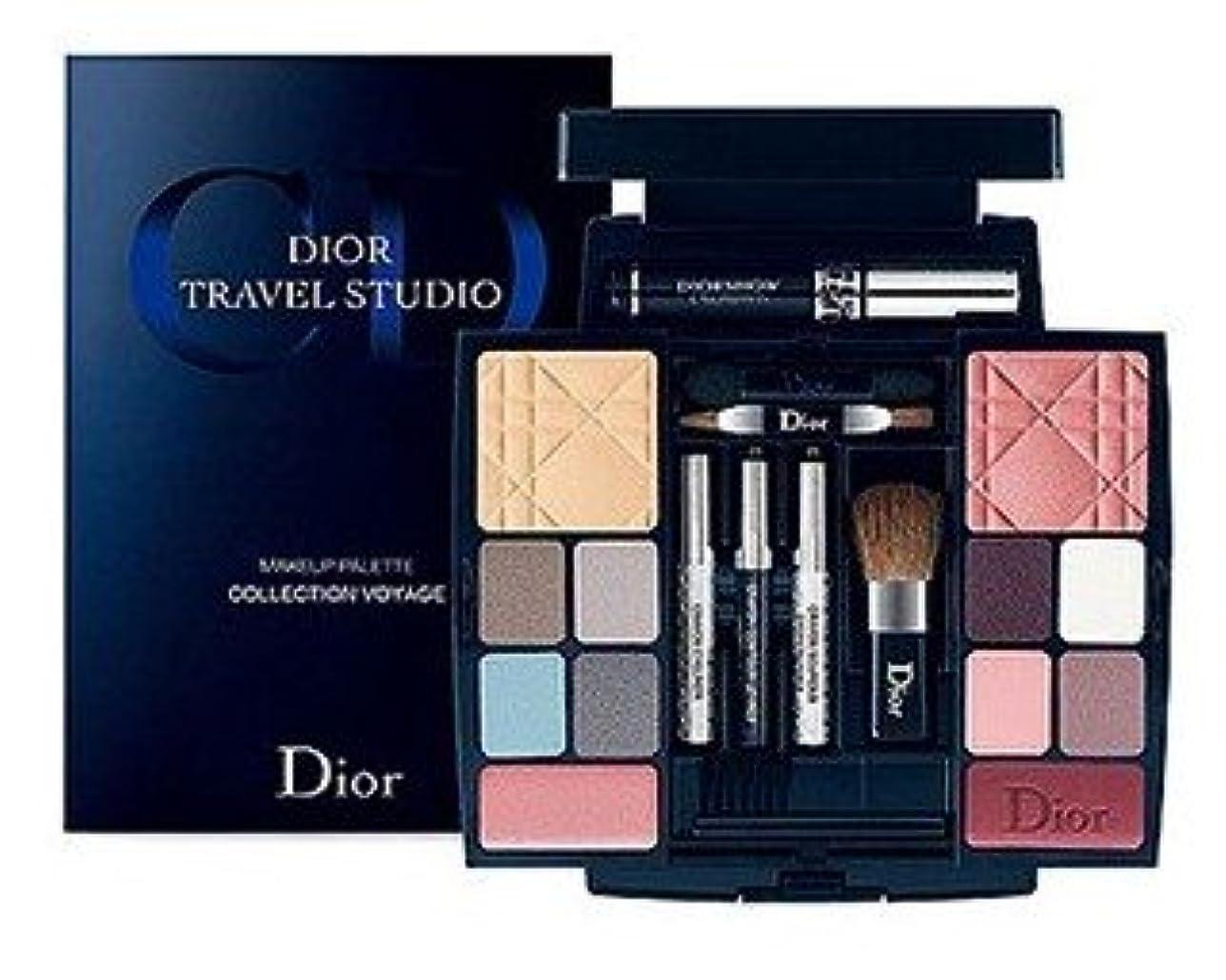 豚母性矩形Dior ディオール トラベルスタジオ メイクアップ パレット Collection VOYAGE