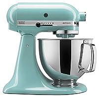 [KitchenAid ] [ 注ぐシールド付きスタンドミキサー KSM150PSAC Artisan Series 5-Qt. Stand Mixer with Pouring Shield] (並行輸入品)