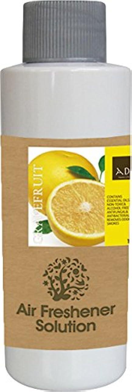 多数の本物十代エアーフレッシュナー 芳香剤 アロマ ソリューション グレープフルーツ 120ml