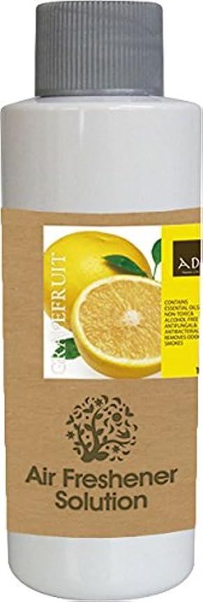 オーバーコート時制ゾーンエアーフレッシュナー 芳香剤 アロマ ソリューション グレープフルーツ 120ml