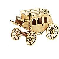 木製模型キット 西部馬車 / YG770