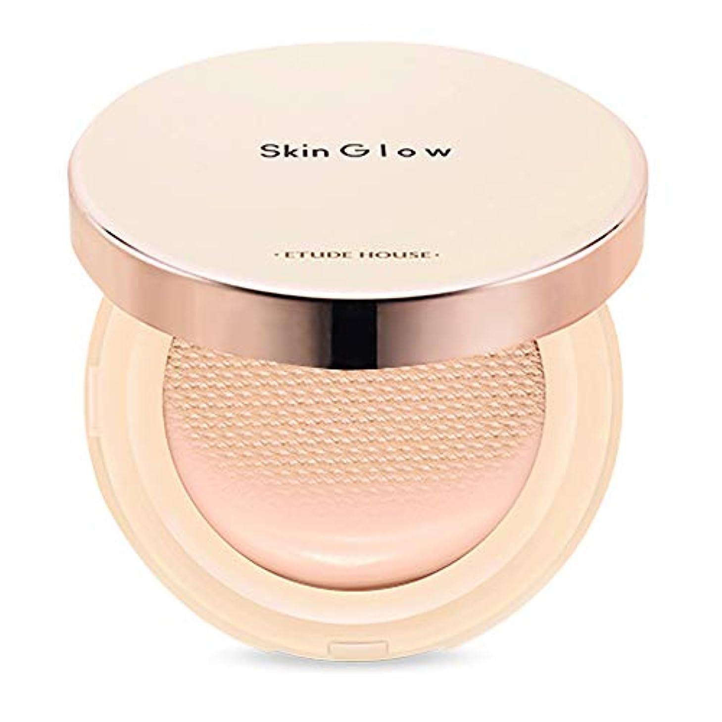 劇場アイスクリーム便利Etude House Skin Glow Essence Cushion SPF50+/PA++++ エチュードハウス スキン グロー エッセンス クッション (# P03 Light Vanilla) [並行輸入品]