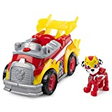 Paw Patrol, Mighty Pups Super Paws Marshall's Deluxe Vehicle with Lights & Sounds