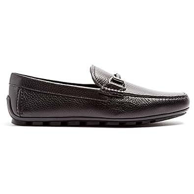 (エルメネジルド ゼニア) Ermenegildo Zegna メンズ シューズ・靴 ドライビングシューズ Grained-leather driving shoes 並行輸入品