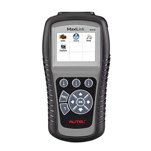 Autel ML619 OBD2スキャナー 自動車診断機 日本語対応 ABS/SRS診断スキャンツール OBD2システム自動車bmw/benz/audiなどのチェックエンジンライト(MIL)及びABS/SRS警告灯のオフ
