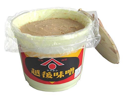 仕込み味噌(通常版)15kg(樽付き)