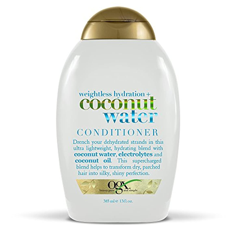 チューリップ酸っぱい黒髪にうるおい オーガニックス コンディショナーココナツウォーター385ml**並行輸入
