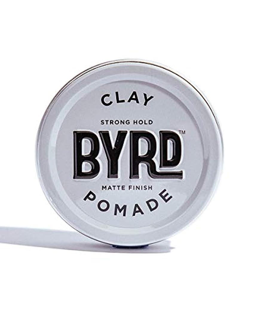 弾薬いつスモッグBYRD/クレイポマード 95g メンズコスメ ワックス ヘアスタイリング かっこいい モテ髪