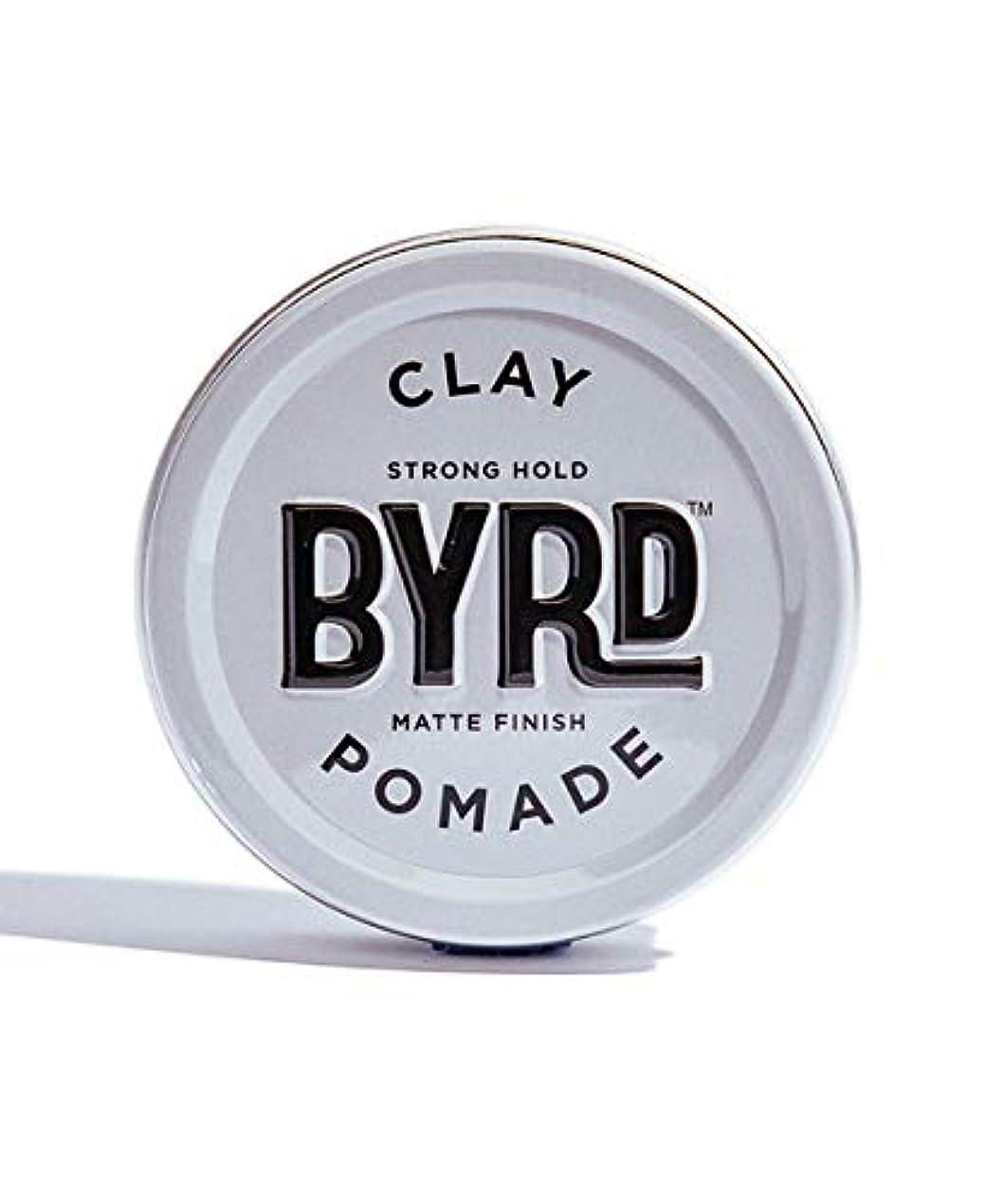 郵便番号落胆させる葉BYRD/クレイポマード 95g メンズコスメ ワックス ヘアスタイリング かっこいい モテ髪