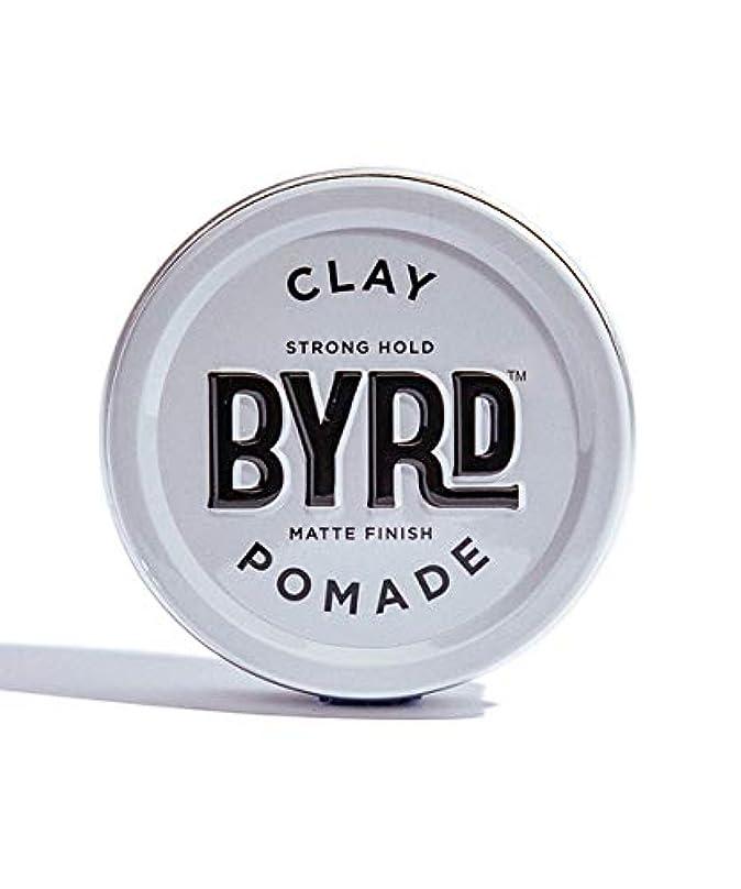 乙女承知しました自分の力ですべてをするBYRD/クレイポマード 95g メンズコスメ ワックス ヘアスタイリング かっこいい モテ髪