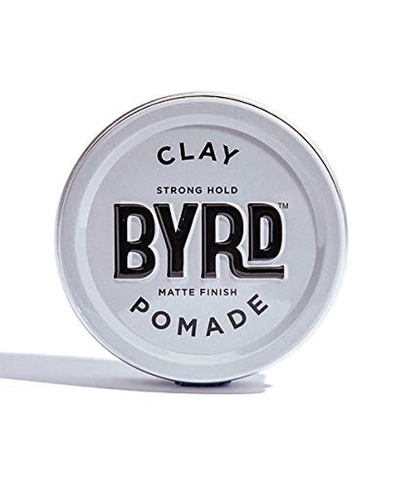 海嶺素晴らしい良い多くの沿ってBYRD/クレイポマード 95g メンズコスメ ワックス ヘアスタイリング かっこいい モテ髪