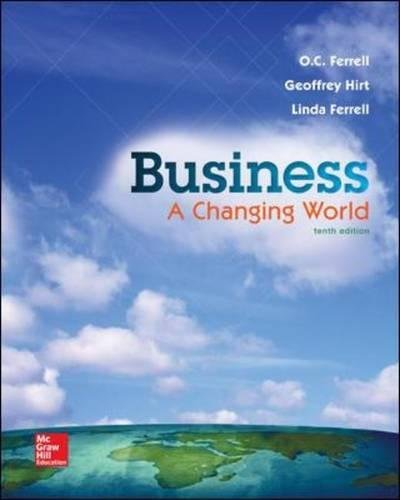 Download Business: A Changing World 1259179397
