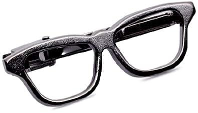BEAMS LIGHTS ネクタイ タイバー メガネタイバー メンズ Black One Size