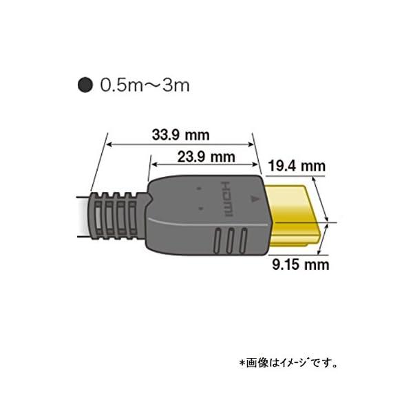 パナソニック HDMIケーブル 1.5m ブラ...の紹介画像6
