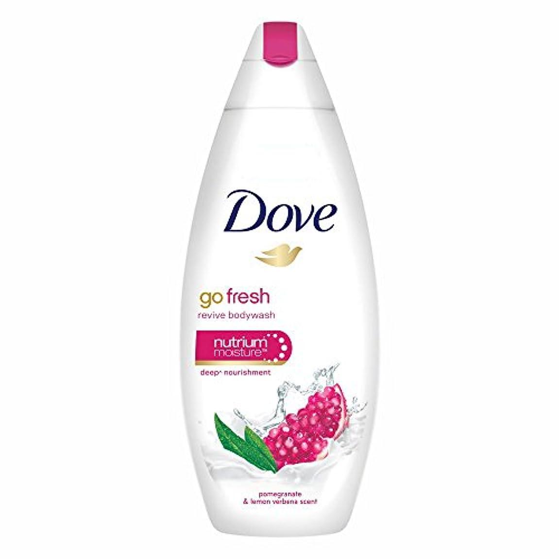粗いタヒチ条約Dove Go Fresh Revive Body Wash, 190ml