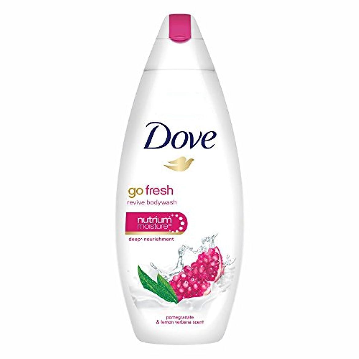 ホットカストディアン酒Dove Go Fresh Revive Body Wash, 190ml