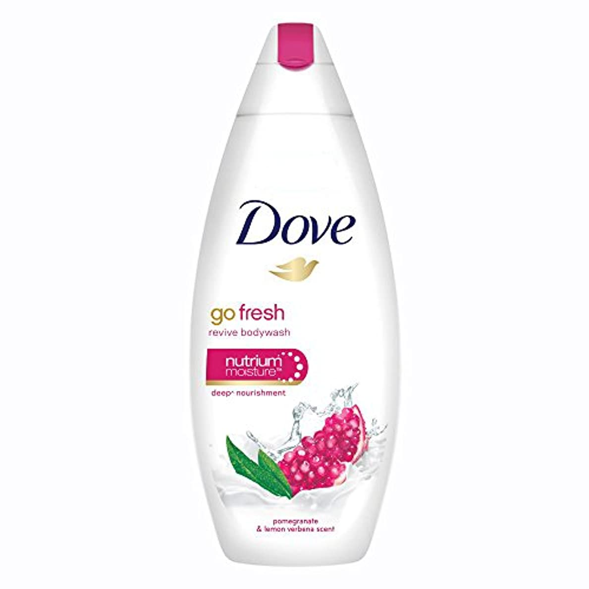手段スタジオ振動させるDove Go Fresh Revive Body Wash, 190ml