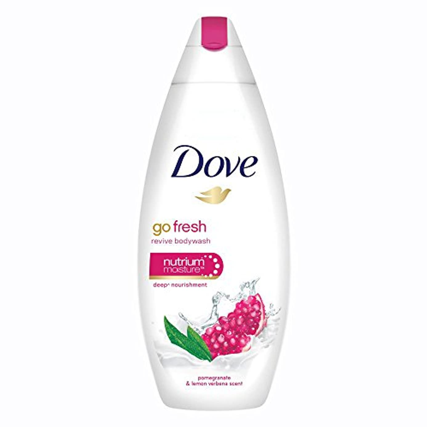 枯れる庭園麦芽Dove Go Fresh Revive Body Wash, 190ml