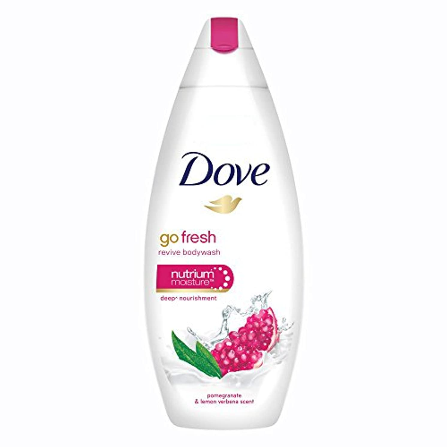 咳認可略すDove Go Fresh Revive Body Wash, 190ml