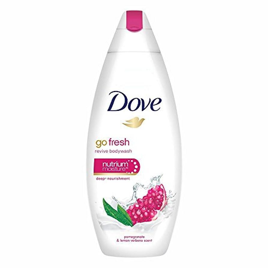放棄ポインタ結婚式Dove Go Fresh Revive Body Wash, 190ml