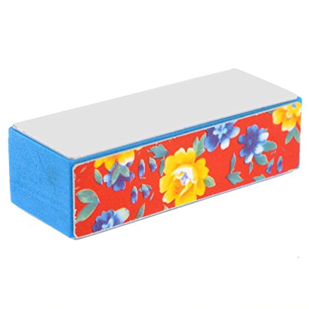 キャンバス研究所二層OUNONA 5個 ブロックバッファー 4面 ネイルシャイン 爪やすり 爪磨き スポンジファイル ネイルケア スポンジバッファー スポンジネイルファイル