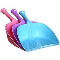 OUNONA 葉の形状ミニ箒ダストパンプラスチックの組み合わせセットデスクトップ家庭ゴミ掃除シャベル(送信カラーランダム)