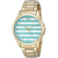 Armani Exchange Women's AX5233 Year-Round Analog Quartz Gold Watch