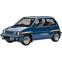 AUTOart 1/18 ホンダ シティ ターボII (ブルー) ※モトコンポ/ホワイト 完成品
