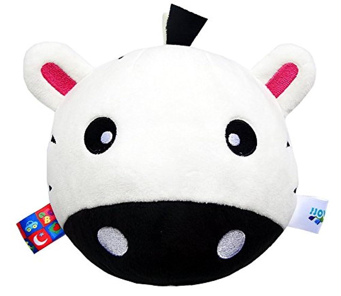 サージ断言する後世Yiping 子供用 知育玩具 赤ちゃん 可愛い 白牛 ソフトハンドラトル ベル キッズ 赤ちゃん ファニー くちゃん ベル ボール おもちゃ ギフト