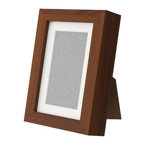 RoomClip商品情報 - IKEA(イケア) RIBBA ミディアムブラウン 70243552 フレーム、ミディアムブラウン