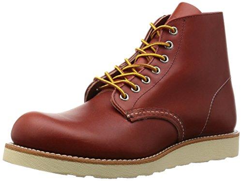 [レッドウィングシューズ] RED WING SHOES ブーツ ヘリテージワーク ラウンドトゥ 8166 BROWN(Oro Russet/7)
