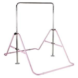 PURE RISE(ピュアライズ) 室内用鉄棒 折りたたみ収納可能 ピンク