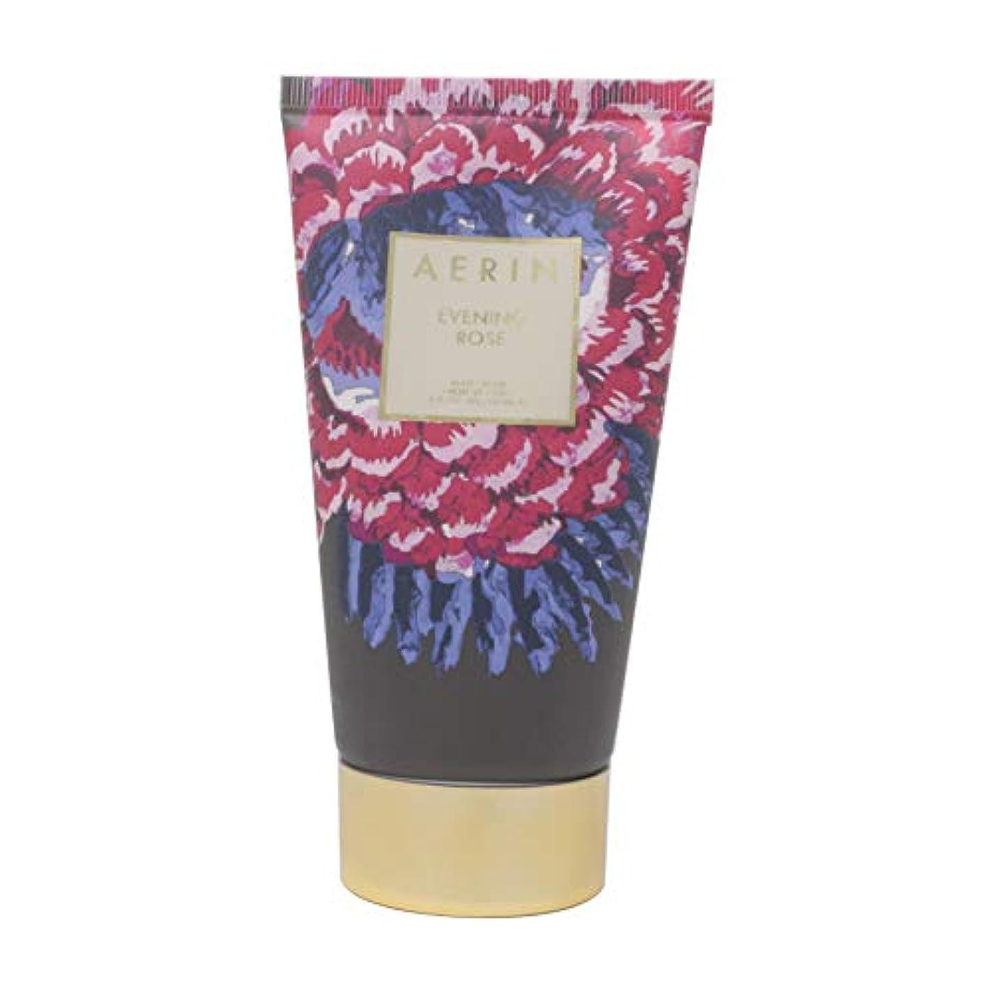 平らな拾う意識AERIN 'Evening Rose' (アエリン イブニング ローズ) 5.0 oz (150ml) Body Cream ボディークリーム by Estee Lauder for Women