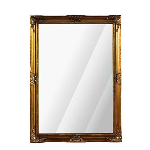 RoomClip商品情報 - ミラー 鏡 アンティーク ウォールミラー ロココ シャビー ゴールド 姫系 美容室 MR-602