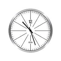 AODISHA 黒と白のウォールクロック、 寝室 レストラン キッチン カフェ 壁時計 円形 シンプル 壁時計 ミュート 壁時計 - より多くの装飾を取る (色 : D, サイズ さいず : 35*35CM)