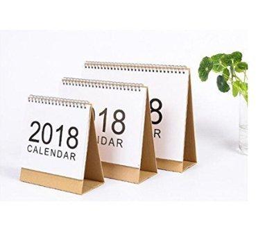 Keeeady 2018年 カレンダー 手帳 卓上 ノートブ...