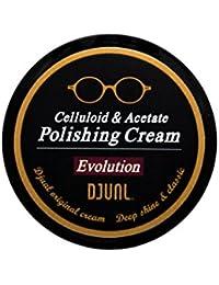 DJUAL (デュアル) セルロイド&アセテート ポリッシングクリーム メガネ サングラス クリーナー メンテナンス お手入れ メンズ レディース