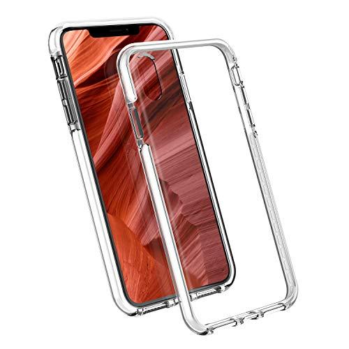 【二重衝撃吸収】 Nimaso N1 iPhone XR 専用 保護ケース 【米軍MIL規格取得】 QI充電対応 フィルムと干渉せ...