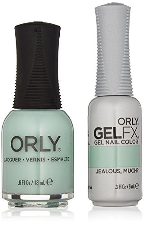 普通にバングスカルクOrly Lacquer + Gel FX - Perfect Pair Matching DUO Kit - Jealous, Much?