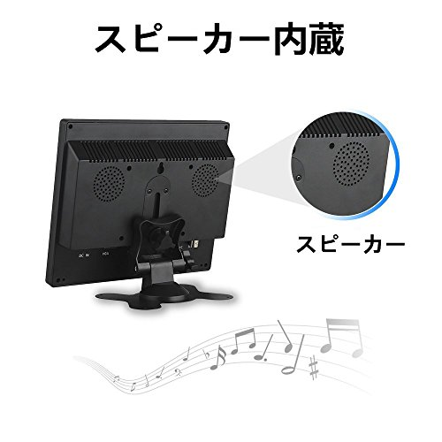 『Eyoyo 8インチ ディスプレイ 小型LCDカラービデオモニター スクリーン 1024x768 VGA BNC AV HDMI Ypbpr 機能付き PC CCTVホーム 入力』の7枚目の画像