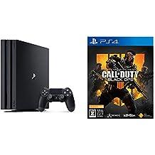 PlayStation 4 Pro ジェット・ブラック 1TB + 【PS4】コール オブ デューティ ブラックオプス 4【CEROレーティング「Z」】 セット